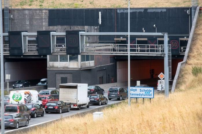 Onderhoudswerken in zes Antwerpse tunnels in september