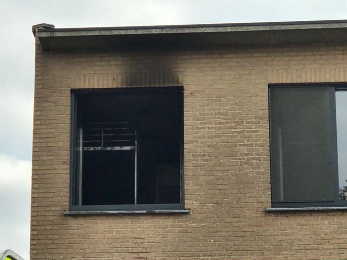 Schade aan woning na brand in slaapkamer
