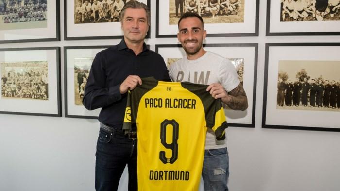 Pech voor Divock Origi: FC Barcelona leent spits Paco Alcacer uit aan Borussia Dortmund