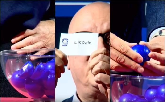 FC Duffel wil loting Croky Cup nietig laten verklaren
