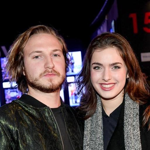 Olga Leyers (20) en vriend na twee jaar uit elkaar