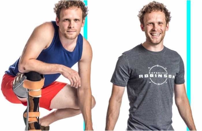 Kandidaat met beenprothese zorgt voor wereldprimeur in 'Expeditie Robinson'
