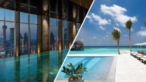 Dit zijn de mooiste hotelzwembaden ter wereld