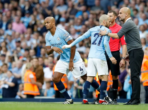 Manchester City wint moeizaam, Kompany mag pas in 89e minuut invallen