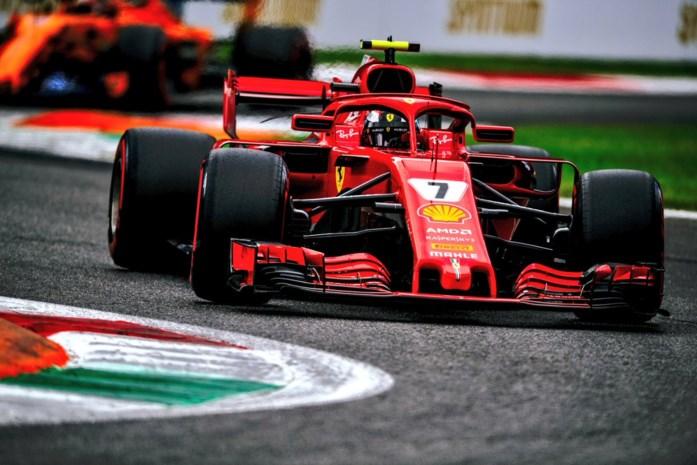 Twee Ferrari's staan op eerste startrij in GP van Italië, Vandoorne traagste