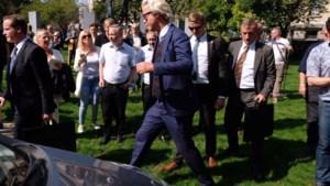 """Bezoek Wilders verloopt zonder incidenten: """"Vlaams Belang is de enige partij die het lef heeft het beestje bij naam te noemen"""""""