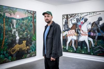 Schilderijen van jonge Antwerpenaar internationaal gegeerd: 'De nieuwe Luc Tuymans'