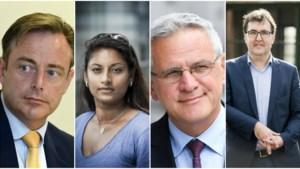 Eerste grote tv-debat: N-VA en CD&V sluiten Antwerpse coalitie met PVDA uit, Van Besien en Beels niet