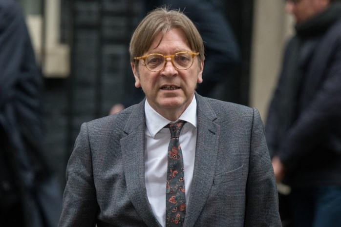 Guy Verhofstadt vormt beweging met partij Emmanuel Macron