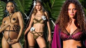 Bolle buiken, plus size en een vleugje SM: dit was de exotische lingerieshow van Rihanna
