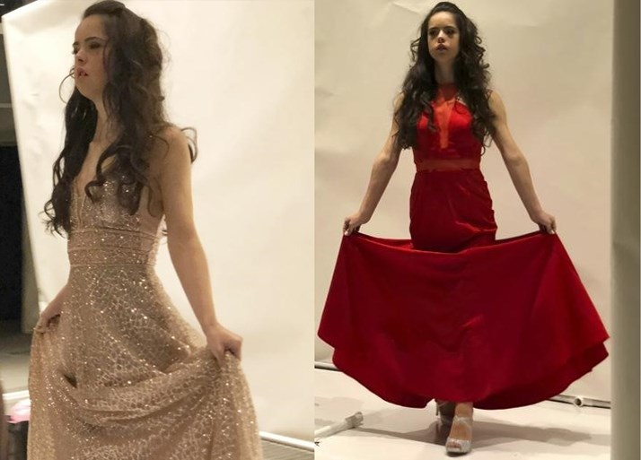 Trend in New York: opvallende modellen op de catwalk