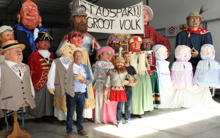 Reus Goliath wil burgemeester van Lier worden en gaat voor absolute meerderheid