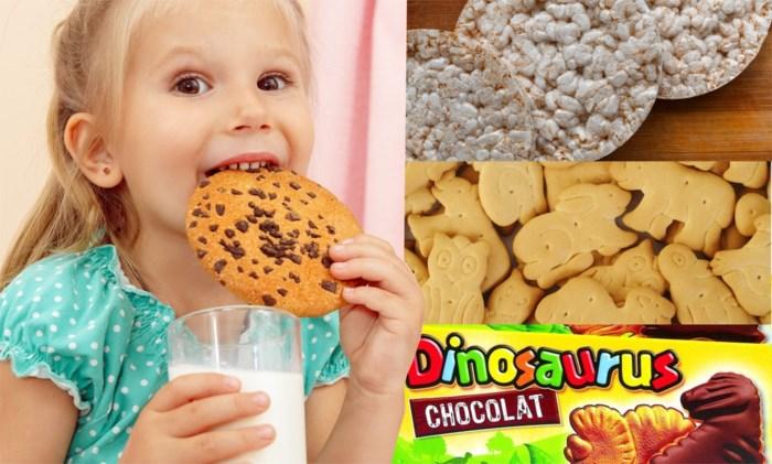 Er is slechts één gezond koekje voor jouw kinderen: diëtiste legt uit wat je best als vieruurtje geeft