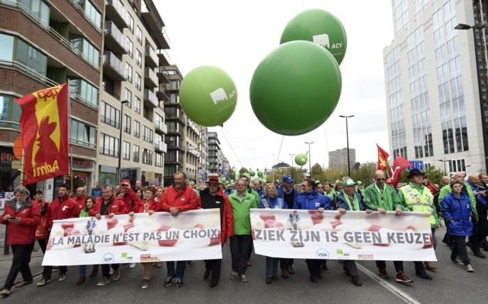 Dinsdag hinder verwacht door actiedag: vakbonden protesteren tegen pensioenplannen