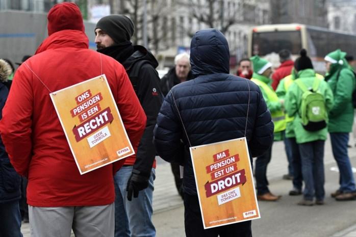Dinsdag betoging tegen pensioenplannen: hier kan u hinder verwachten