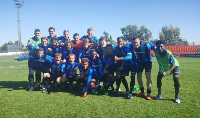 Goed voorteken? U19 Club Brugge leidt groep in Champions League na zege bij Atlético Madrid