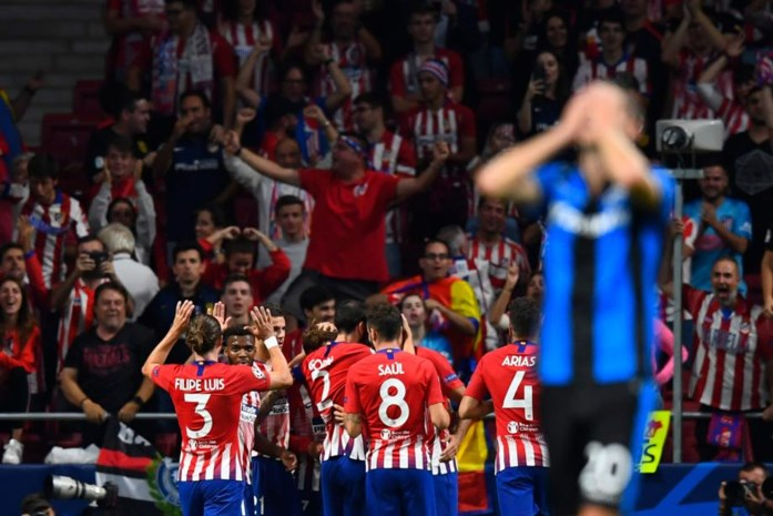 Club Brugge kan ondanks prachtige goal van Danjuma niets rapen bij Atlético Madrid