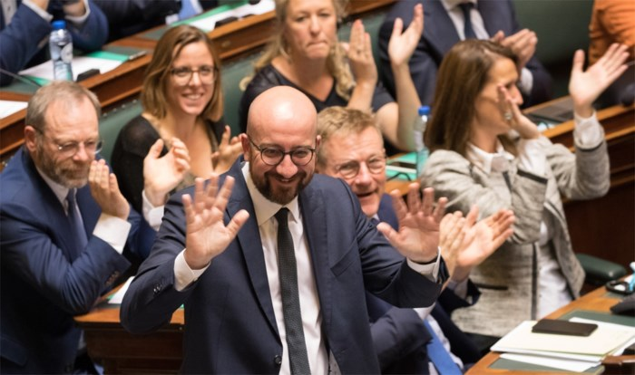"""Premier Charles Michel (MR): """"Gebeld met Merkel om black-out te vermijden"""""""