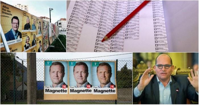 Uitslag verkiezingen in Brussel en Wallonië