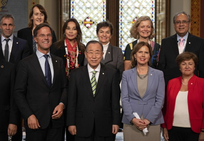 """Ban Ki-moon: """"Generaties lang spijt als we niets doen aan klimaatverandering"""""""