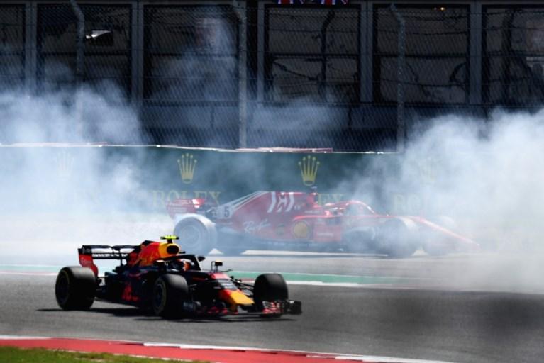 Raikkönen en Verstappen stellen Hamiltons feestje nog even uit