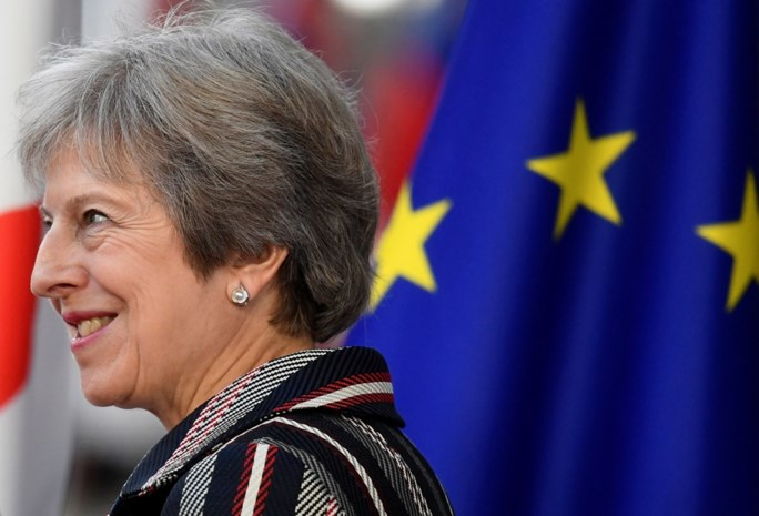 "Theresa May: ""Brexit-deal voor 95 procent rond"""