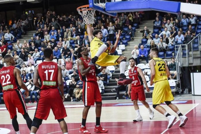 Telenet Giants Antwerp winnen van Israëlische topper Hapoel Jeruzalem in kolkende Lotto Arena