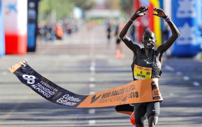 Keniaan Kiptum vestigt nieuw wereldrecord op de halve marathon