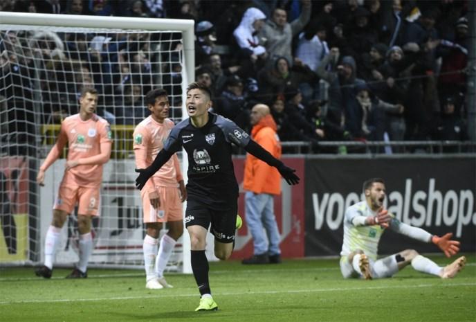 Anderlecht gaat pijnlijk onderuit bij Eupen