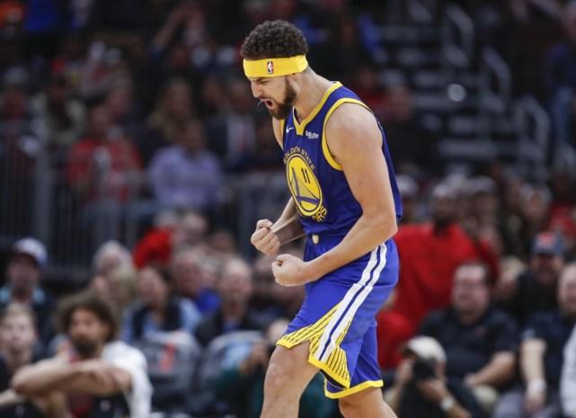 Warrior Klay Thompson vestigt nieuw NBA-record met veertien driepunters, Lebron kan opnieuw niet winnen