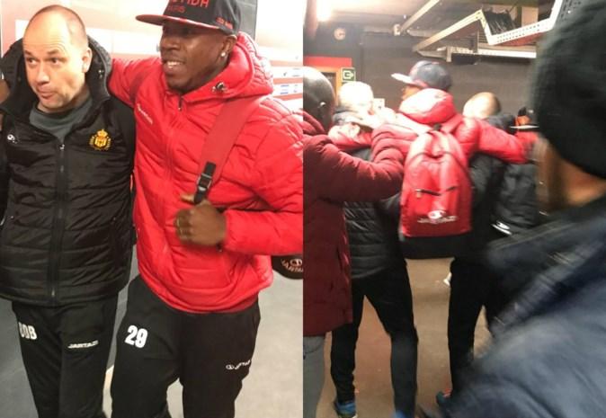 KV Mechelenspits valt al na kwartier geblesseerd uit