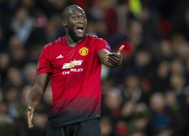 """Geen Lukaku in kern bij Manchester United, """"omdat hij iets voelde na de laatste training"""""""