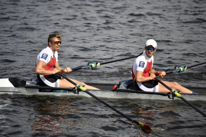 Brys en Van Zandweghe finishen derde op de Thames