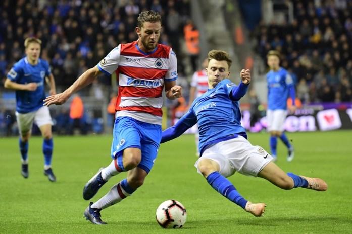 Geen winnaar in spannende topper tussen Genk en Club Brugge