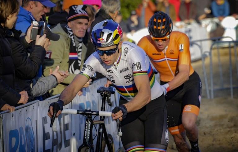 Mathieu van der Poel haalt na offday op Koppenberg alweer verschroeiend uit op EK veldrijden