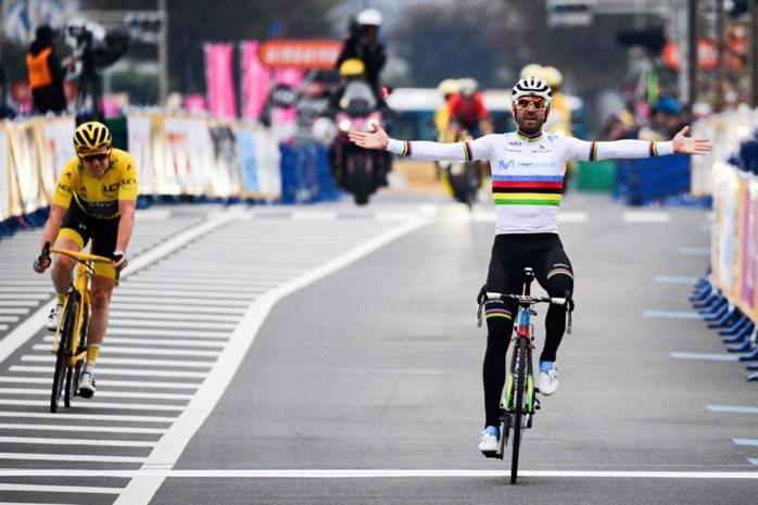 Wereldkampioen Valverde wint Tour de France Saitama Critérium