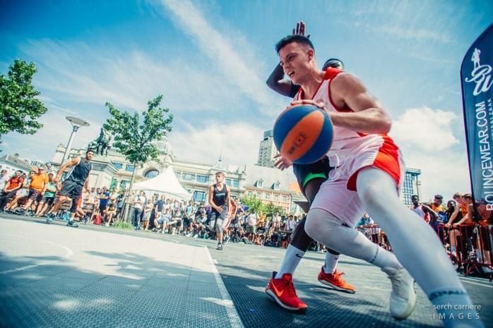 Antwerpse Groenplaats in 2020 decor voor FIBA 3x3 Europe Cup