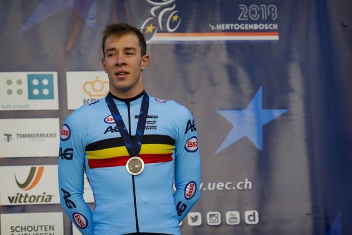 """Laurens Sweeck pakt eerste medaille op internationaal kampioenschap bij de elite: """"Nooit in paniek geraakt"""""""