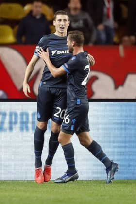 Club Brugge walst over Monaco in Champions League: 0-4 (!)