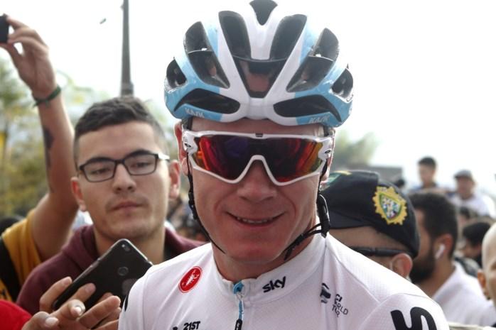 Chris Froome start 2019 met Ronde van Colombia