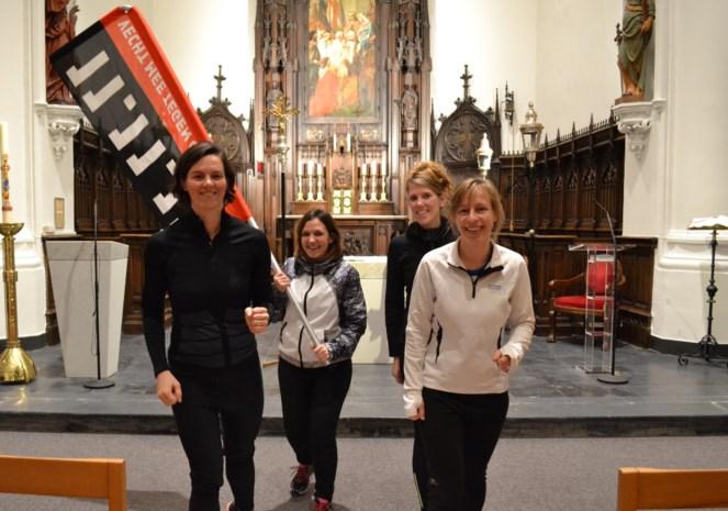 Urban trail voor goede doel: lopen door kerk, scholen en chirolokalen