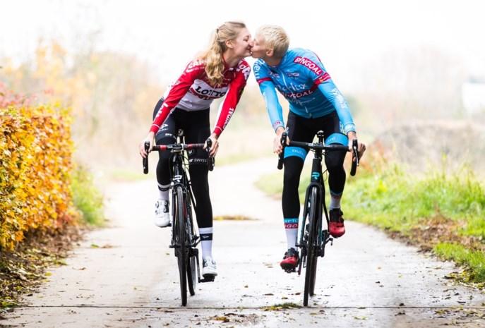 """De liefde tussen modderduivel Michael Vanthourenhout en zonneklopster Kelly Van Den Steen: """"Dat hartje toen hij won: zo schattig"""""""