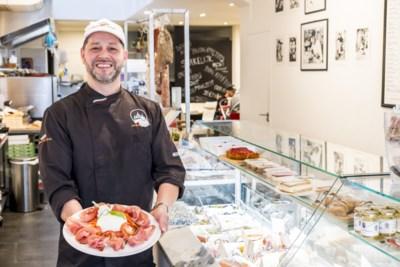 Eten voor minder dan 15 euro: parmaham met burrata bij Cuore di Puglia