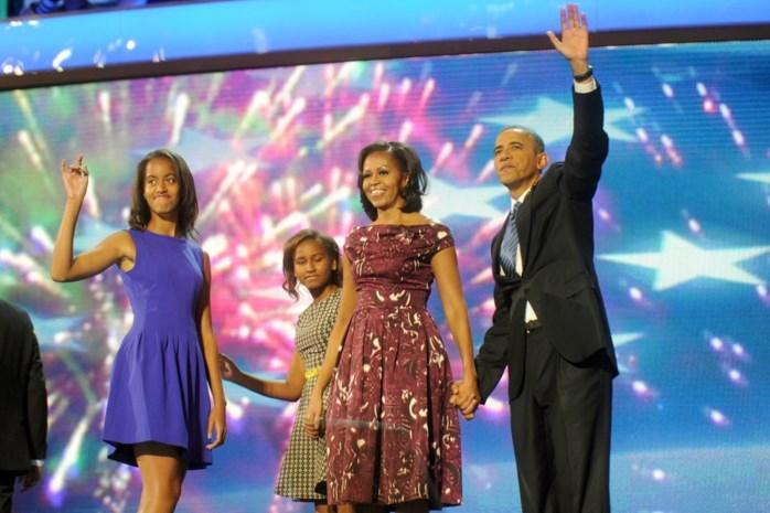 Dochters Obama zijn proefbuisbaby's en Michelle zal Trump zijn leugen nooit vergeven