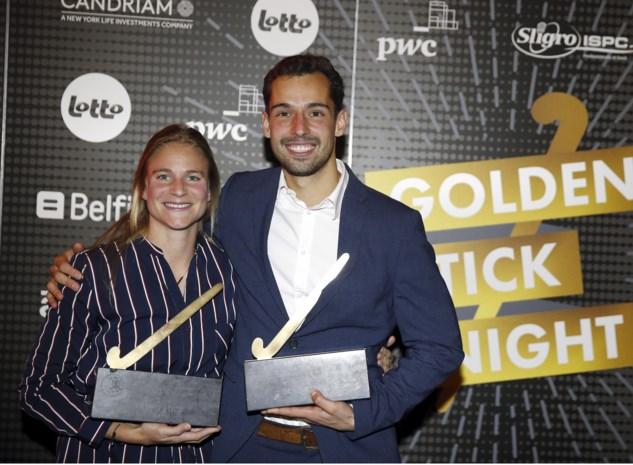 Florent van Aubel en Alix Gerniers krijgen Gouden Sticks en zijn beste hockeyers van seizoen 2017-2018