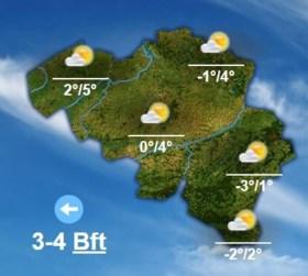 Daar is de winter: overdag niet warmer dan 5 graden, 's nachts overal vrieskou