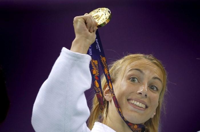 Judoka Charline Van Snick verovert gouden medaille in Den Haag