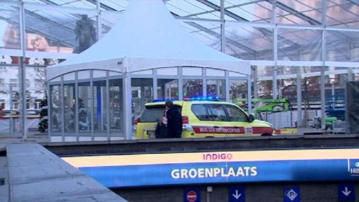 Man (46) in levensgevaar na val van 12 meter hoogte tijdens opbouw 'Winter in Antwerpen'