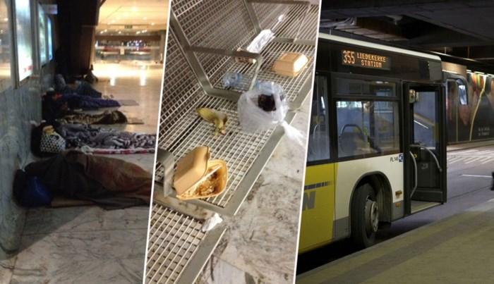 De Lijn haalt bushaltes weg bij Brussels Noordstation