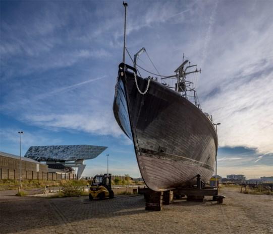 Historische vaartuigen verhuisd naar Droogdokkensite: dit wordt het nieuwe Maritiem Museum